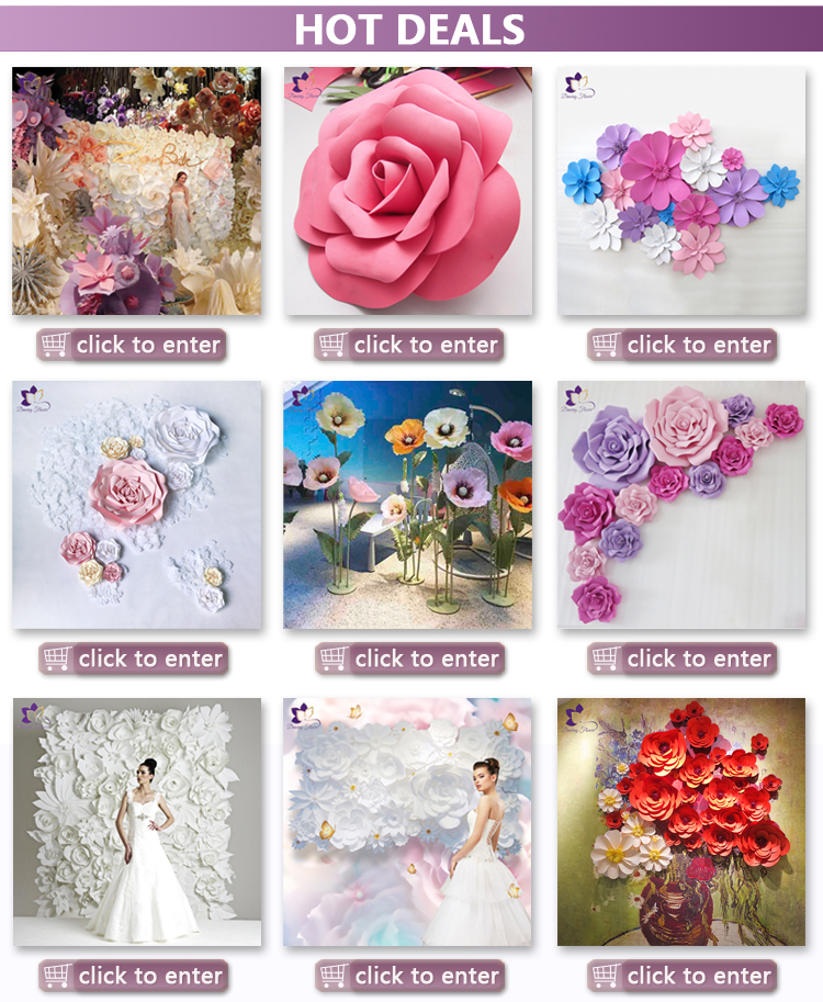 Artificial Stem Flower Giant Wedding Decoration Flowers With Stand