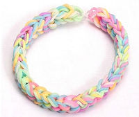 Best cheap silicone wristband DIY bracelets loom bands sets bands for promotional gift