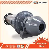 Zenith high performance coal grinding ball mill with ISO