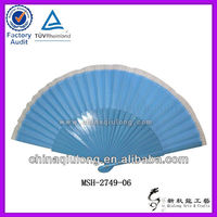 Color Printed Wooden Lace Hand Fan