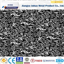 Best wholesale websites square meter price etched stainless steel plate 1000/1219/1250/1500mm width