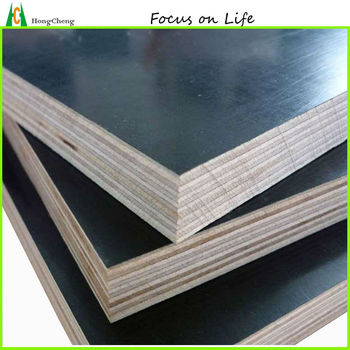 18mm/12mm shuttering black plywood (water-boiled-proof glue)