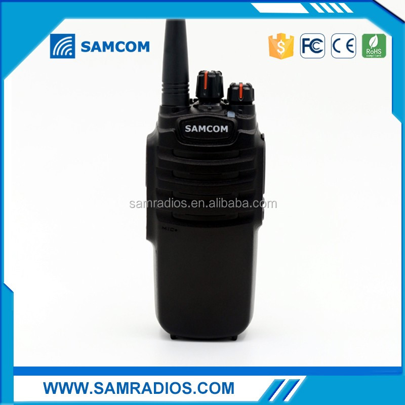 10Watts Long Range two way radio headset walkie talkie 20km SAMCOM CP-400HP with FCC Approval,big battery capacity 3600MaH