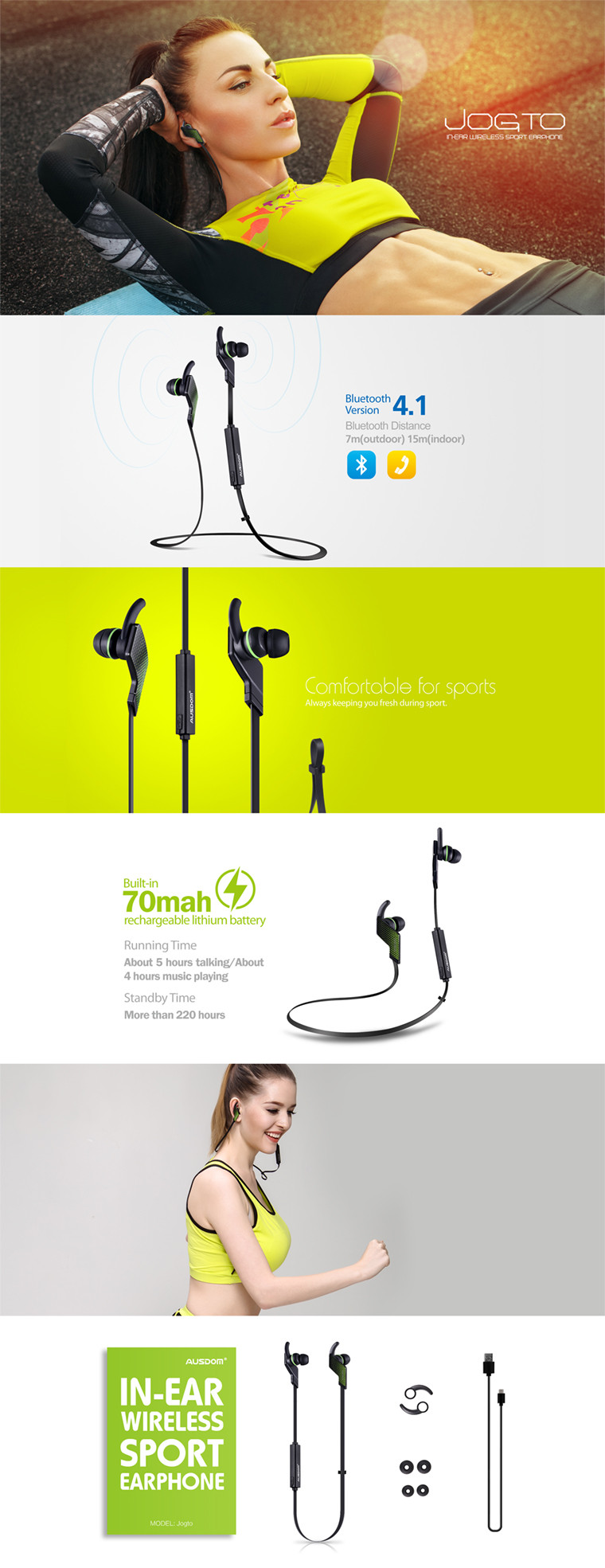2016 best price Smallest wireless bluetooth earbuds,sport headphone bluetooth earphone