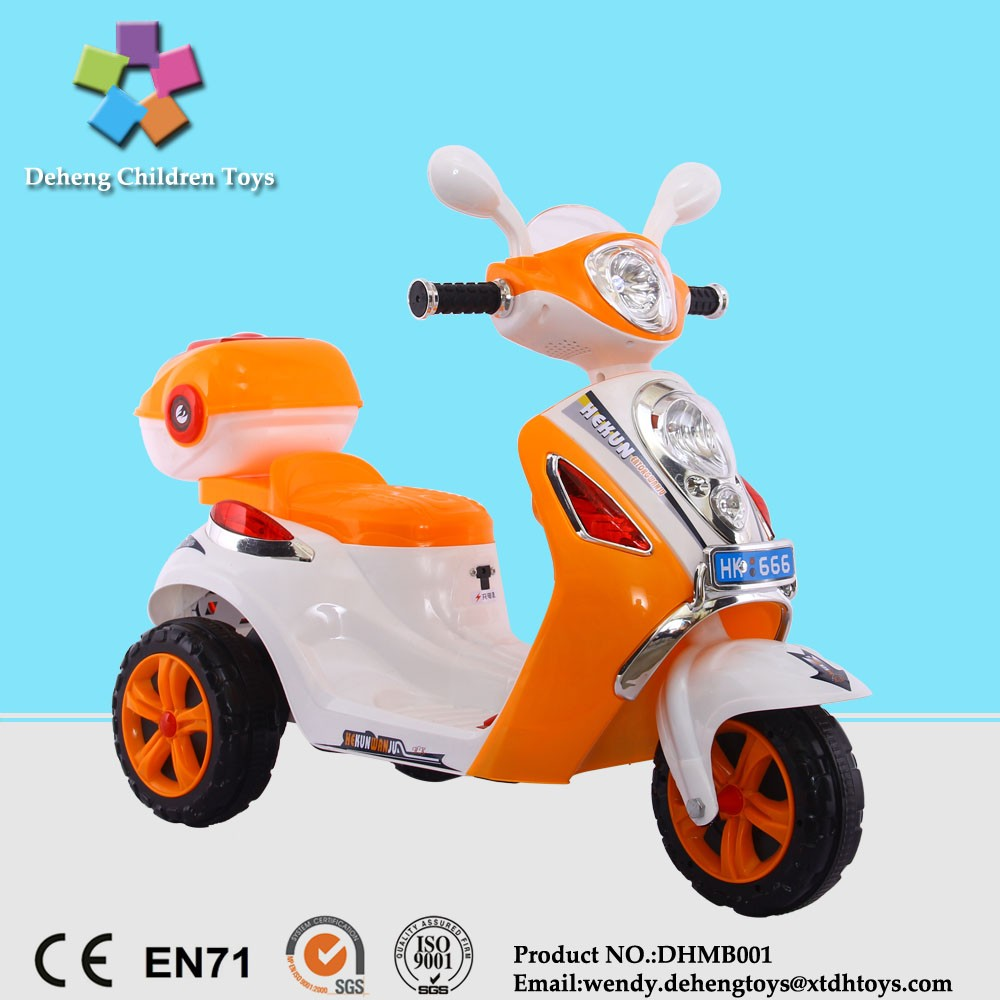 Cheap ride on toy 3 wheel electric motorbike for kids