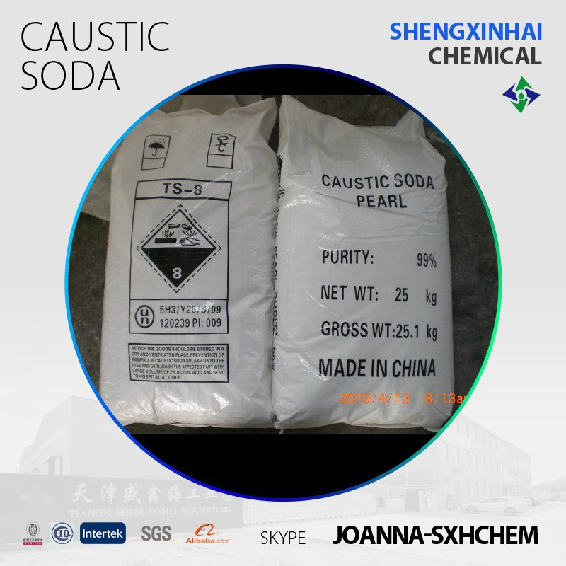 Caustic soda pearl 99 specifications;caustic soda powder