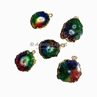 Wholesale Solar Quartz Pendants : Solar Quartz Supplier from India China