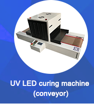 Customized uv led curing machine with conveyor