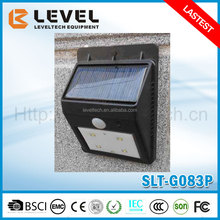 Outdoor High Lumen Solar Motion Sensor Light Small Solar Security Led PIR Outdoor Wall Light PIR Motion Sensor Light