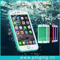 High Quality Hybrid Rubber TPU Shockproof Waterproof Phone Cover Case For iPhone 6 6S