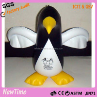 custom PVC inflatable penguin toys for kids