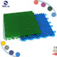 SGLH New Types interlocking/ removable/green carpet tiles for outdoor basketball football court