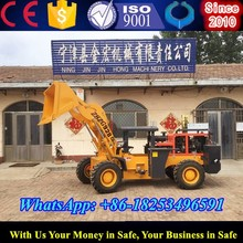 heavy equipment for tunnel construction 2t wheel loader