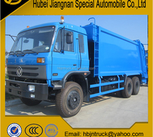 Dongfeng 15m3 waste compactor truck