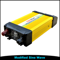 Household Dual Output 24V DC To 220V AC Power Inverter With Battery Charger 1KW 1000W Inverter