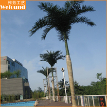 CT0322 outdoor artificial trees coconut trees for swimming pool decoration