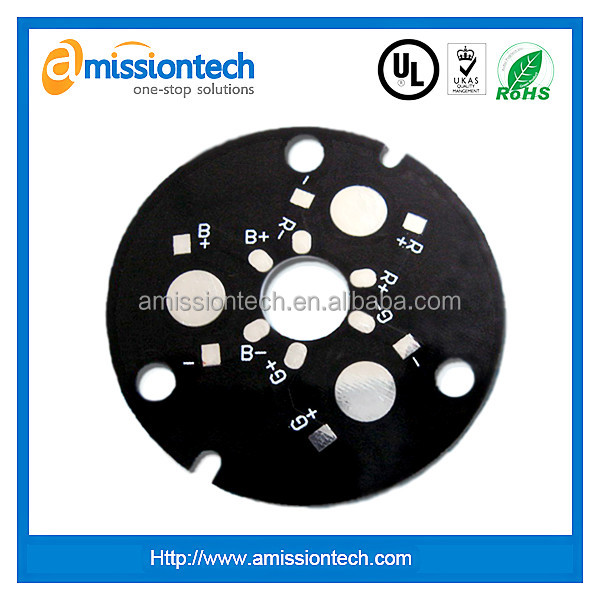 Round LED High TG PCB board