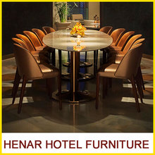 High end furniture tables and chairs for restaurant
