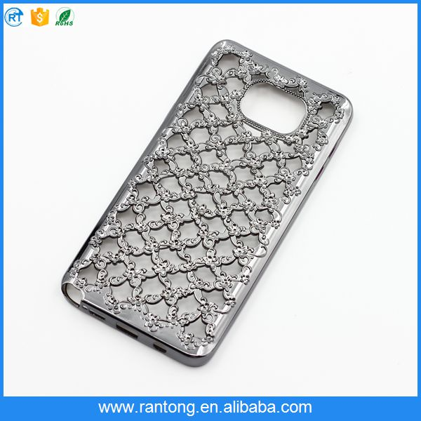 flower electroplated tpu for girls for samsung galaxy s5 phone case