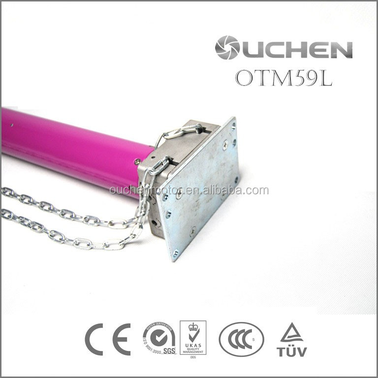 New Product Electric Tubular Motor For Industrial Garage Door , Roller Shuter Door ,OTM59L-80N.m