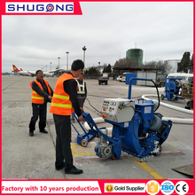 CE /ISO approved factory price China airfield runway abrasive blast cleaning equipment