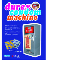 Durex Condom Vending Machine Original Durex Elite Condom vendor High quality condom machine Elite vending machine LY001