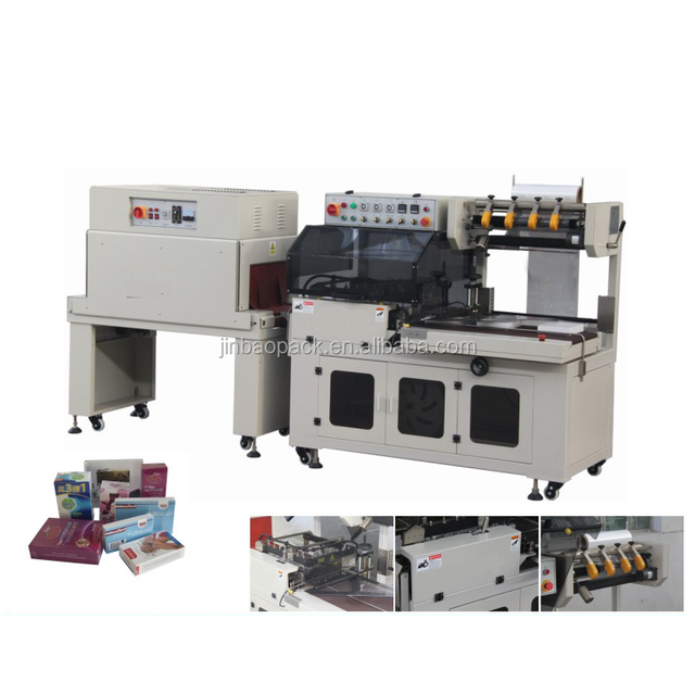 Toys Heat Shrink Wrap Packaging Machine With Automatic Conveyor