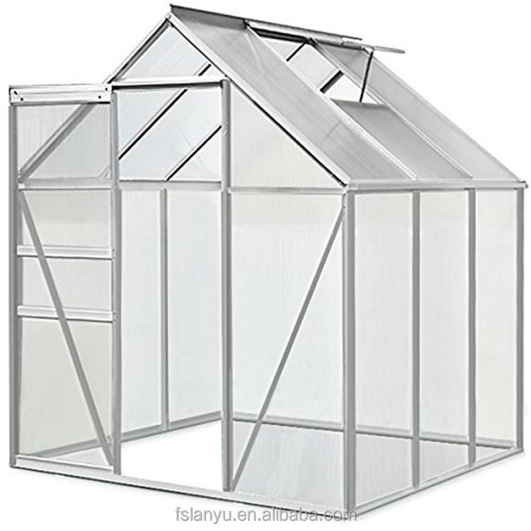 Long life multi-span tunnel aquaponics greenhouse