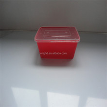 food use and pp plastic type food storage container red