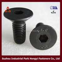 China Ikea Screw Of Hex Socket Flat Head Countersunk Construction DIN7991