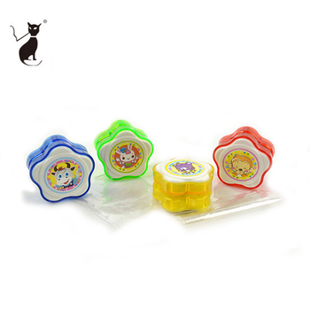 Promotional Plastic PS Flower Professional YOYO Ball With Sticker
