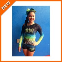 Sublimation Spandex Cheerleading Uniforms for Girls