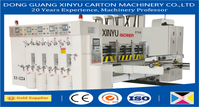 full rotary die cutting with slotting and multicolours printing machine