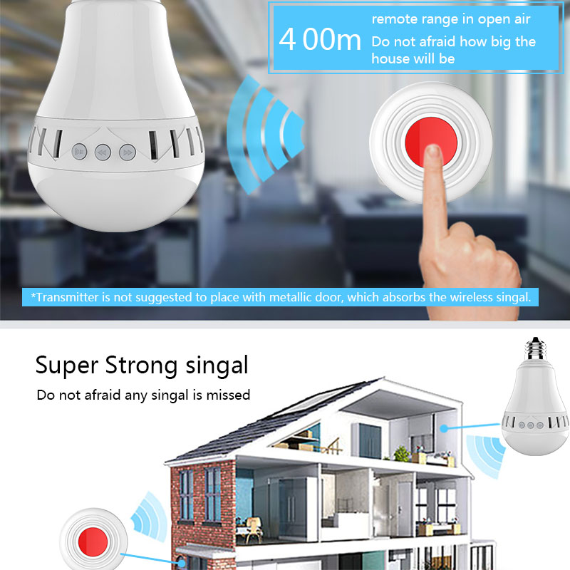 Wireless 400m Long Range Ding Dong, UK Euro US Apartment Door Bell Chime 220v No Battery