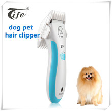 Professional top quality powerful motor cordless electric rechargeable pet dog hair clipper made in China