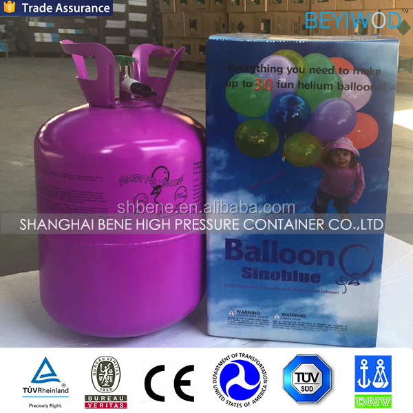 best selling small disposable helium balloon gas <strong>cylinder</strong> 5kg/3kg