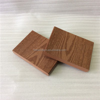 Timber Grain Wood Plastic Composite Flooring Solid WPC Decking Boards