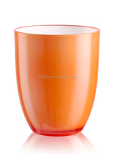 High quality kitchen hotel bar double walled thermal plastic cup