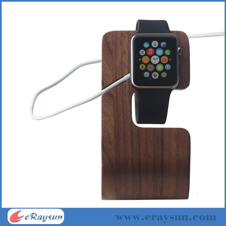 Natural Wood Docking Station for Apple Watch 38mm and 42mm