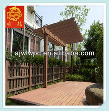 Wood Plastic Composite Project/WPC Decking Prices