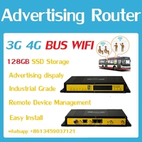 F3436H industrial 3G advertising router wifi hotspot bus station, shopping mall, supermarket, bus