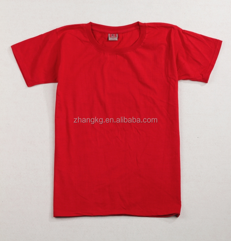 OEM top quality tee shirt,good workcraft tshirt,blank cotton tee shirt