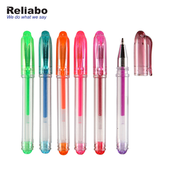 Reliabo Wholesale China Factory Custom Personalized Design Multicolor Mini Glitter Gel Pen