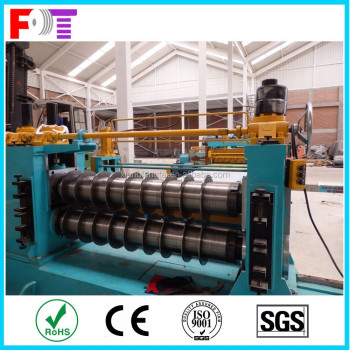 automatic and semi-automatic steel coil slitting machine and cutting machine for steel strip