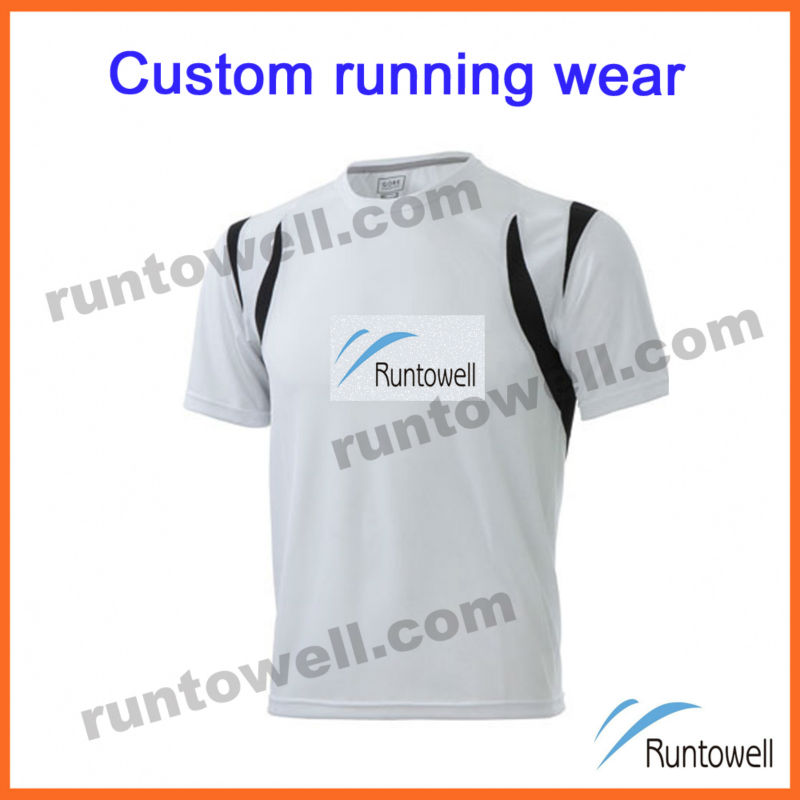 Runtowell 2013 Custom design gear running / wholesale running shirts / custom running shirt