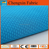 polyester football mesh fabric for short sportswear