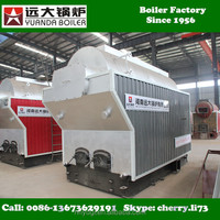 DZH4-1.25-T 4ton/hr coal fired steam boiler for food processing machinery