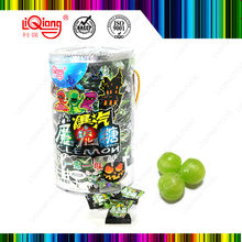 Sweet Taste center fill soda powder candy with fruit flavour