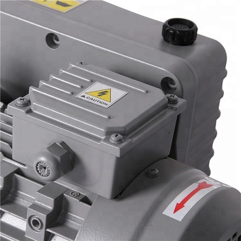 0.75 kW Nominal Motor Rating Rotary Vane Vacuum Pump