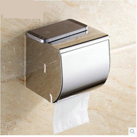 Feidike 8650 stainless steel bathroom hardware accessories tissue bo paper holder toilet phone holder